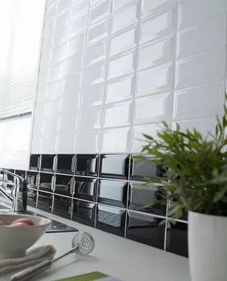 carrelage mur blanc 10 x 20 cm trentie