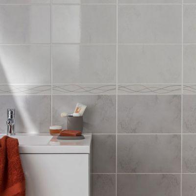 Carrelage Mur Blanc 20 X 33 Cm Loft Vendu Au Carton Castorama