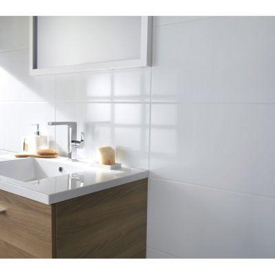 carrelage mur blanc brillant 30 x 60 5 cm vendu au carton