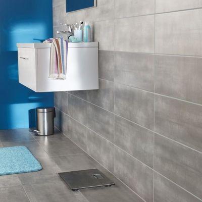 carrelage mur gris clair 20 x 60 cm made mud vendu au carton