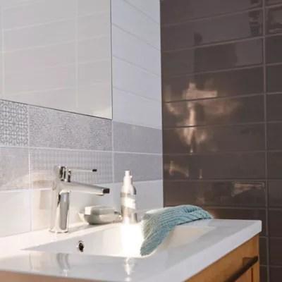 Carrelage Mur Little Italy Blanc 10 X 40 Cm Castorama