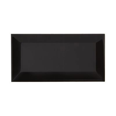 Carrelage Mur Noir 7 5 X 15 Cm Hd2i Metro Vendu Au Carton Castorama