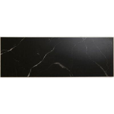 carrelage mur noir effet marbre 25 x 70 cm aseo vendu au carton