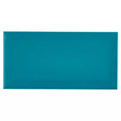 Carrelage Mural Metro Turquoise 10 X 20 Cm Trentie Castorama