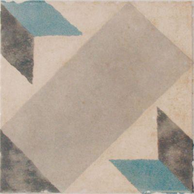 Carrelage Sol Et Mur Decor Blanc Gris 20 X 20 Cm 1930 Vendu Au Carton Castorama