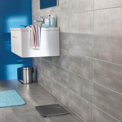 carrelage sol et mur gris fonce 30 x 60 cm made plomb vendu au carton