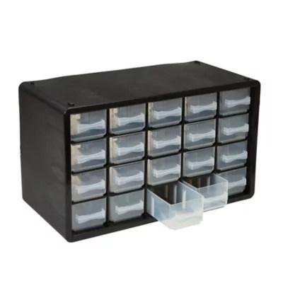 casier de rangement plastique 20 tiroirs