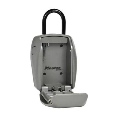Coffre A Cles Securise A Anse Masterlock Select Access Castorama