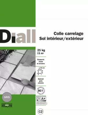 Colle Carrelage Sol Interieur Exterieur Gris 25 Kg Castorama