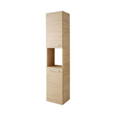 colonne de salle de bains decor bois naturel noe