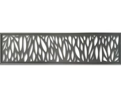 decor feuille aluminium neva taupe