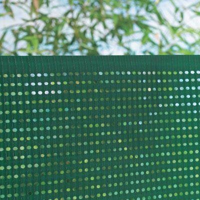 Ecran Jardin Polyethylene Blooma Vert 5 X H 1 5 M Castorama