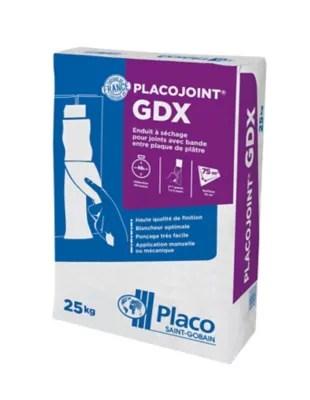Enduit Placo Gdx Poudre 25kg Castorama