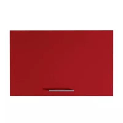 facade de cuisine 1 porte pour meuble hotte rouge spicy 60 cm