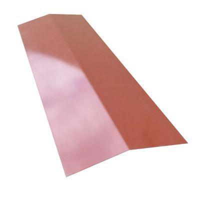 faitiere pour plaque metal imitation tuile bacacier home steel rouge