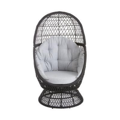 fauteuil oeuf de jardin effet rotin anya