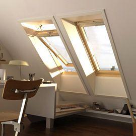 fenetre de toit a rotation velux ggl confort bois sk06 3076 114 x h 118 cm