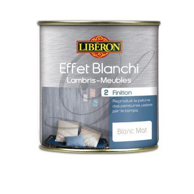 Finition Effet Blanchi Lambris Et Meubles Liberon Blanc Mat 0 5l Castorama