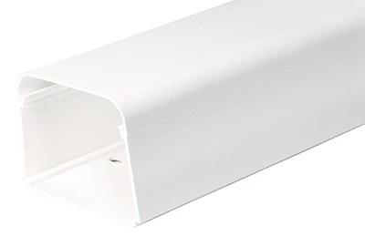 goulotte rigide pour climatisation 80 x 60 mm 1 m