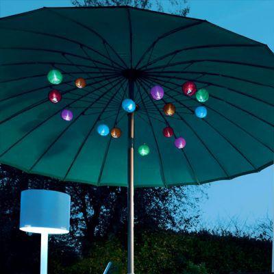 guirlande solaire led soltera tutti frutti 4 5 m