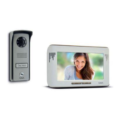 interphone video couleur extel mika