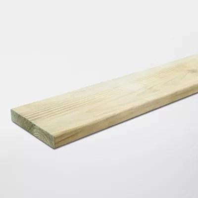 lame de cloture bois blooma lemhi 240 x 15 cm