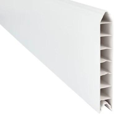 lame de cloture pvc emboitable l 180 x h 20 cm ep 30 mm