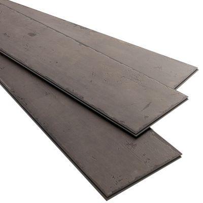 lame pvc clipsable tenji gris fonce 122 x 18 cm vendue au carton