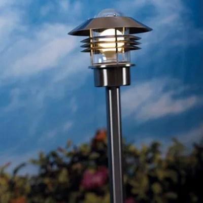 lampadaire exterieur cadre light vejers galva h 215 cm
