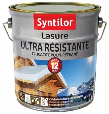 lasure ultra resistante syntilor ton chene dore 2 5l