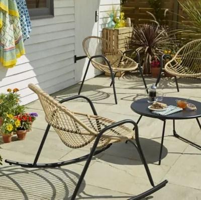 lot table basse de jardin nova fauteuil de jardin rocking chair fauteuil de jardin