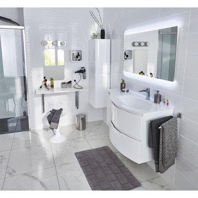 Miroir Eclairant Led 100 X 70 Cm Vague Castorama
