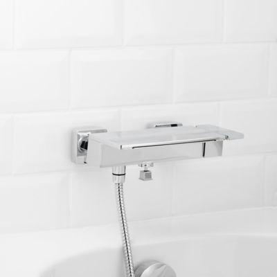 mitigeur de baignoire a effet chute d eau goodhome abana