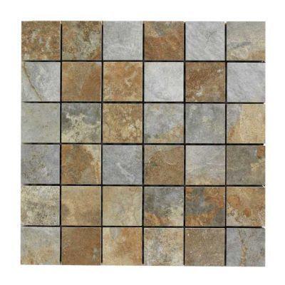 mosaique sol et mur 29 80 x 29 80 cm imitation ardoise