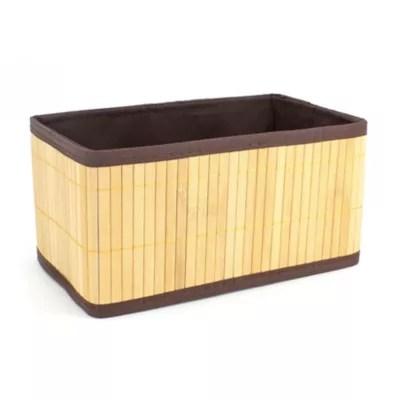 panier bambou naturel papangue petit modele 26 cm
