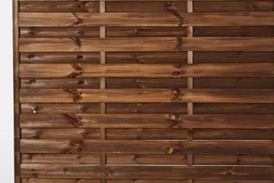panneau droit bois blooma arve marron 30 mm 180 x h 180 cm