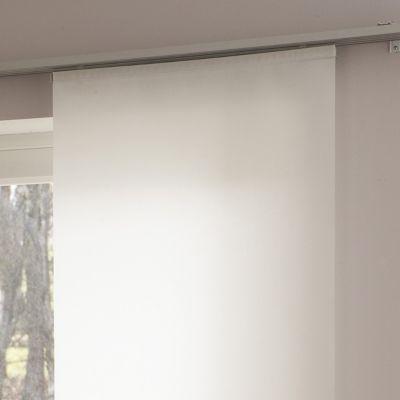 panneau japonais madeco uni blanc 60 x 300 cm