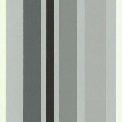 papier peint expanse sur intisse rayures larges gris