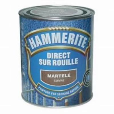 Peinture Antirouille 750ml Cuivre Martele Castorama