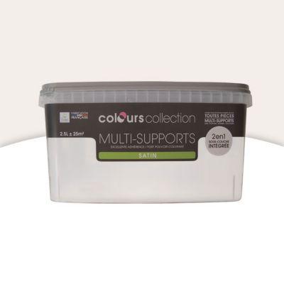 Peinture Multi Supports Craie Satin 2 5l Castorama