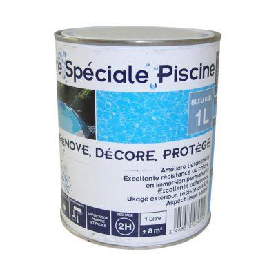 Peinture Piscine Bleu Ciel 1l Castorama