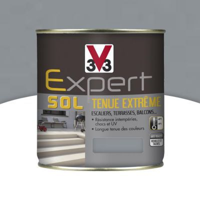 Peinture Pour Sol Interieur Exterieur Tenue Extreme V33 Ciment 2 5l Castorama