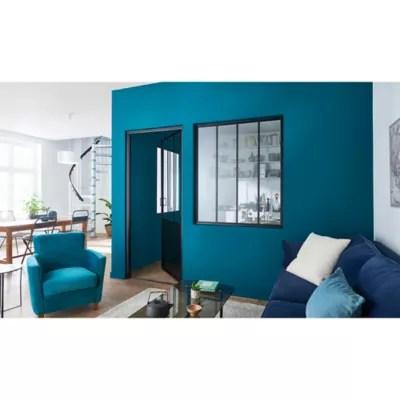 peinture salle de bains goodhome bleu marseille satin 2 5l