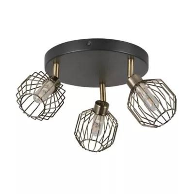Plafonnier Salle De Bain Orin 3 Lampes Ip44 G9 Metal Castorama