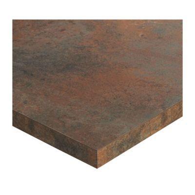 plan de travail ilot stratifie aspect bois karusti 100 x 184 cm ep 38 mm vendu a la piece