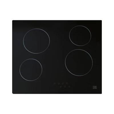 plaque de cuisson vitroceramique cooke lewis clcer60 4 foyers