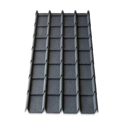 plaque metal easy tuile linea 113 x 86 cm anthracite vendue a la plaque