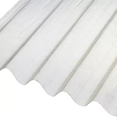 Plaque Ondulee Polyester Transparent 200 X 90 Cm Castorama
