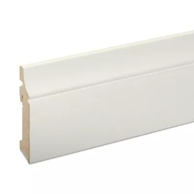 Plinthe Mdf Blanc Goodhome 220 X 10 Cm Decor 10 Castorama