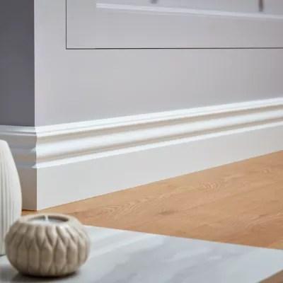 Plinthe Mdf Blanc Goodhome 220 X 12 Cm Decor 10 Castorama